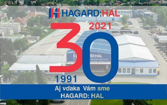 HAGARD:HAL 30 rokov na trhu